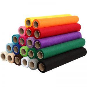 Egyszínű filc anyagok