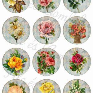 Virágos minták